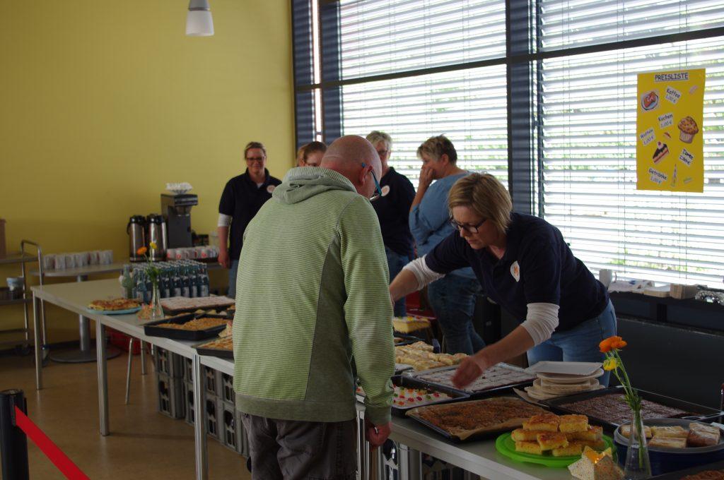 Kaffee und Kuchen vom Förderverein