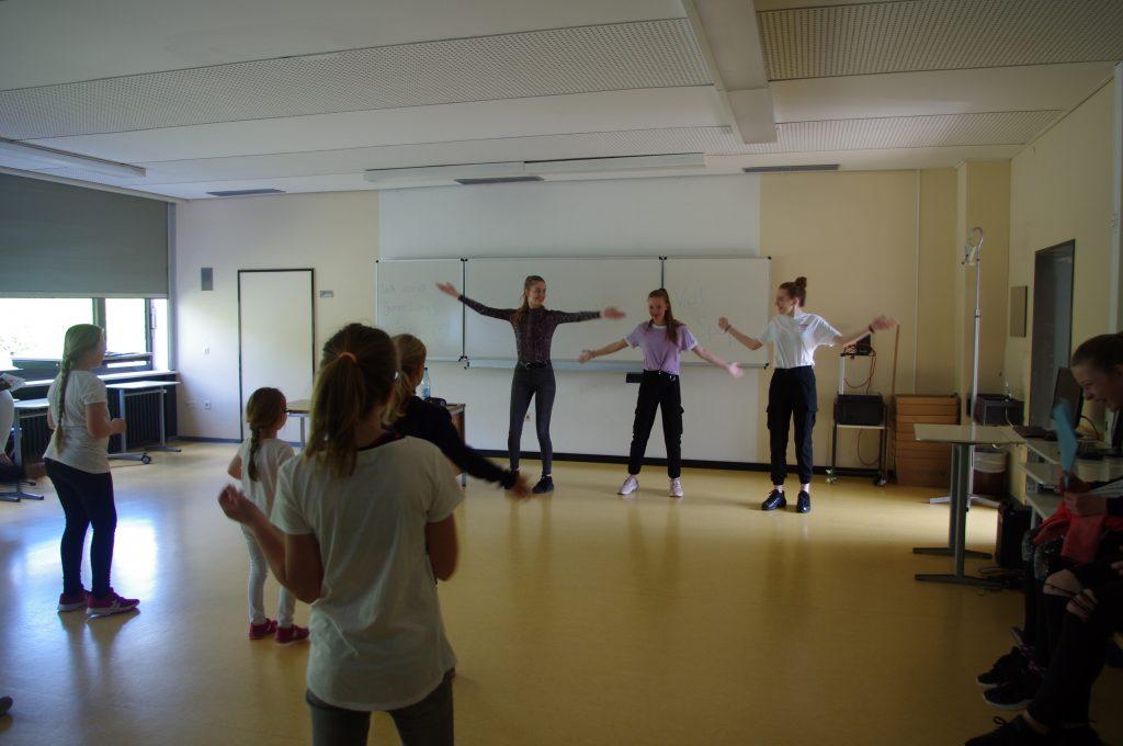 Gemeinsame Tanzchoreographien