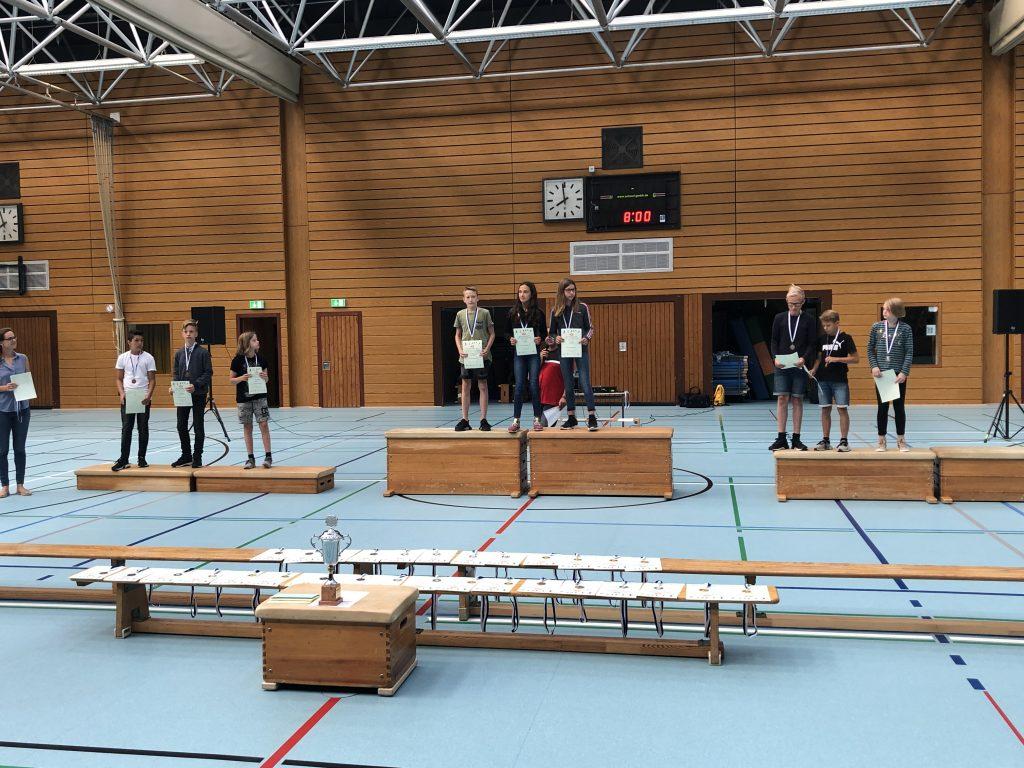 Siegerehrung Sportfest 2019 6. Klassen