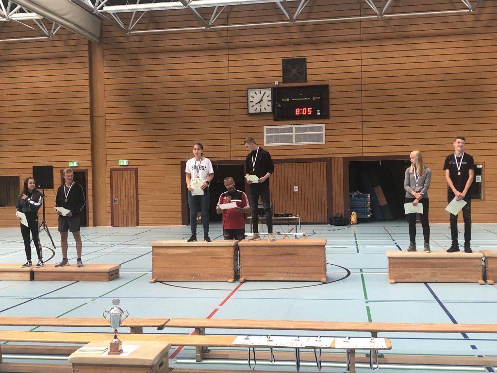 Siegerehrung Sportfest 2019 9. Klassen